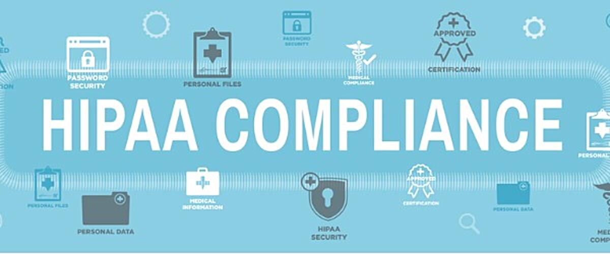 hipaa compliance email banner