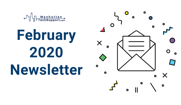 Feb Monthly Newsletter Welcome Banner